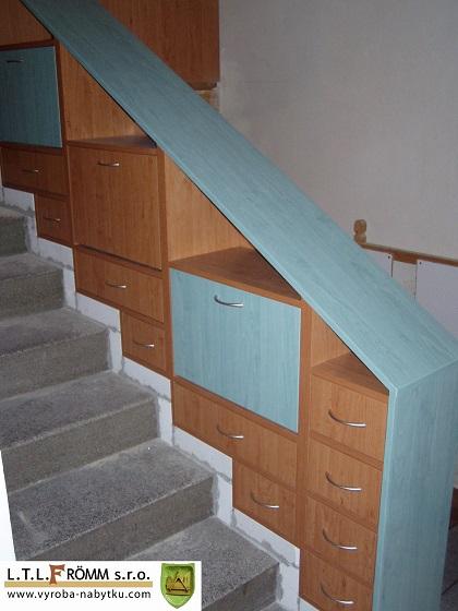 Botník na schody